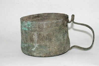 Antique Ottoman Fireplace Copper Kettle 1700's 2