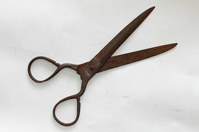 Antique Ottoman Handforged Big Iron Scissors 18 Century Mega Rare 3 • CAD $1,054.31