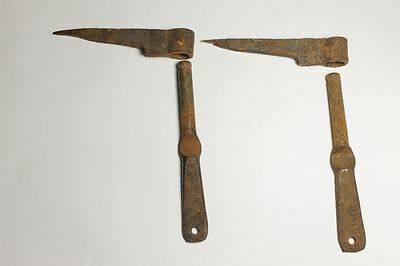 Antique Bulgarian Pair Iron Henges B.P. 18 Century 6