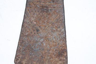 WOW Antique Ottoman Iron Pickaxe Engraved 15 Century 5