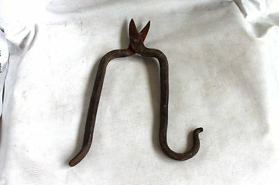 Antique Garden Iron Shears Scissors 19 Century Bulgaria 4