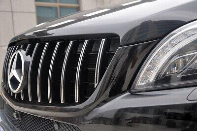 Nero GWQNB ABS Griglia paraurti Anteriore griglia a griglia per Mercedes Classe ML W166 ML250 ML300 2012-2015 Nero