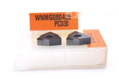 2pcs VCGW110302 PCD30// VCGW220.5 PCD30 for Aluminum  INSERT Diamond carbide bits