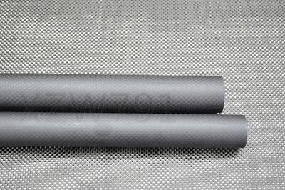16mm OD X ID 12mm 13mm 14mm 15mm X 500MM Roll Wrapped Carbon Fiber Tube 3K US