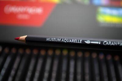 Caran d'Ache Museum Aquarelle Artists Quality Water Colour Pencil Full Range 2