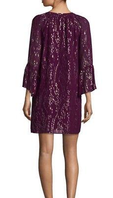 876e5aec100 ... NWT Lilly Pulitzer Matilda Silk Metallic Tunic Dress Fish Clip Chiffon  Shiraz XS 5