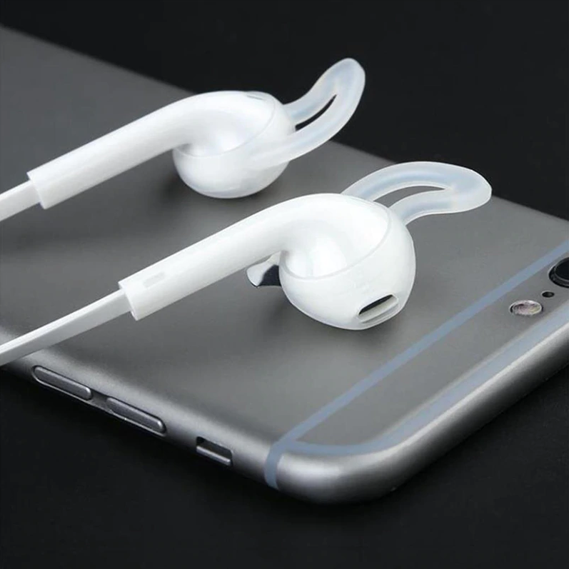 Silicone Airpods  & EarPods Hooks Earhooks Cover Earbuds Apple iPhone