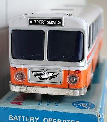 Original Alps Airport Service Bus aus den 70ern, Blech, OVP, Super Zustand 2