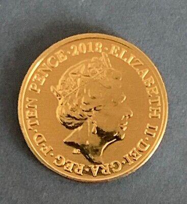 Rare 2018 Alphabet A-Z 10p Ten Pence Coin M - Mackintosh From Sealed Bag 2