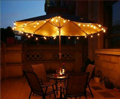 Catena Luminosa Ghirlanda Filo Lampadine Pub Feste Giardino Decorazione Luci 4