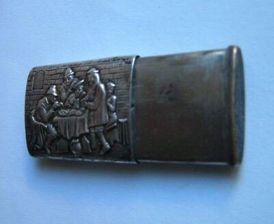 Antike 835 Silberne Zündholzer Dose (Match Safe) 2