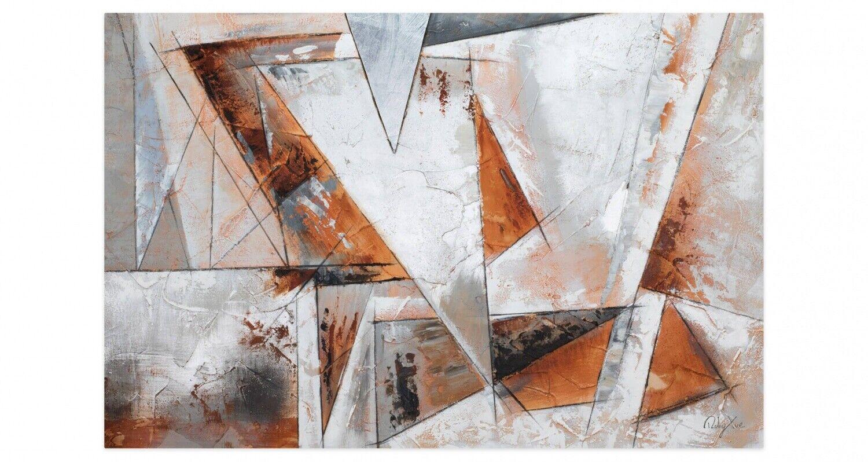 Acryl Gemälde 'GIER NACH FREIHEIT' | HANDGEMALT | Leinwand Bilder 120x80cm 11