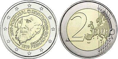 Portugal 2 Euro 2019 Magellan Weltumsegelung Gedenkmünze bankfrisch 3