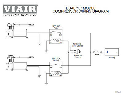 viair compressor wiring diagram 444c chrome compressors dual pack viair low ride customs air bag  444c chrome compressors dual pack viair