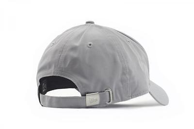 fa05c3938 ... New Era Mens 9Forty Baseball Cap.new York Yankees Flawless Grey Curved  Peak Hat 2