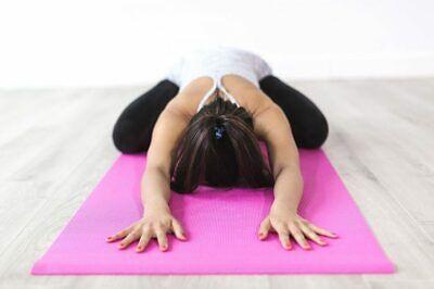 Esterilla para yoga gimnasia Colchoneta de fitness Pilates deporte colchón 8