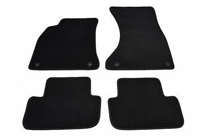 2 tlg Fußmatten AUDI A4 8H Cabrio Original Qualität Velours Automatten Matten