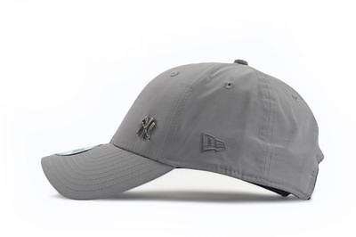 074dbe2c0 ... New Era Mens 9Forty Baseball Cap.new York Yankees Flawless Grey Curved  Peak Hat 5