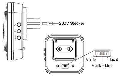 Klingelerweiterung  Funk  Funkklingel für bestehende Klingelanlage 32 Melodien 8
