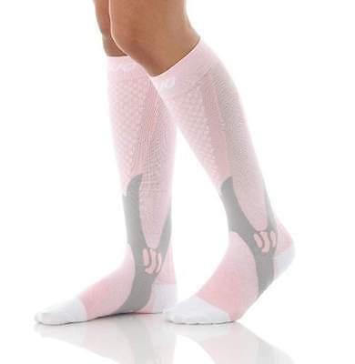 (2 Pairs) Compression Socks Sports Men Women Calf Shin Leg Running Fitness S~XXL 4