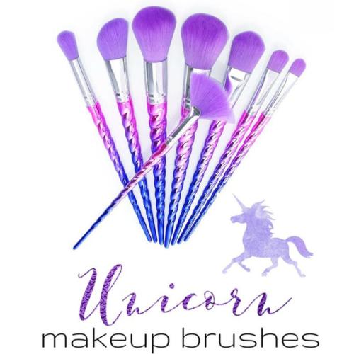 10Pcs Pro Makeup Brushes Set Foundation Blusher Face Powder Eye Cosmetic Brush 7