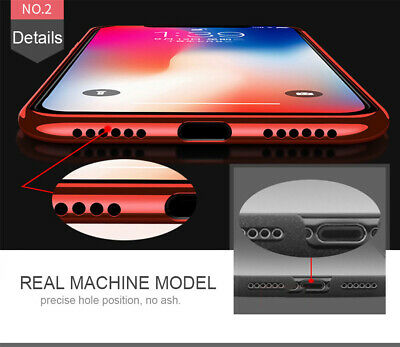 Case For iPhone 8 7 6s Plus XR XS MAX X Cover 360 Hybrid Shockproof Silicone GEL 7