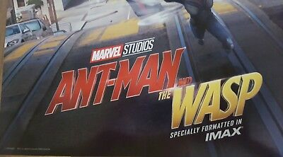 """Marvel Studios ANT-MAN AND THE WASP Official Movie 13"""" x 19""""  IMAX Poster-HTF 4"""