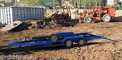 Trailer Plans- 3500KG FLATBED CAR TRAILER PLANS- 4800x1760mm- PRINTED HARDCOPY 8