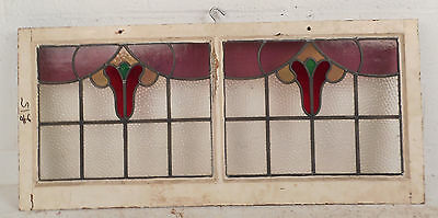 Vintage Stained Glass Window Panel (3119)NJ 2