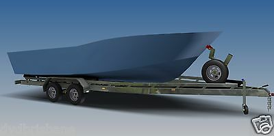 Trailer Plans - BOAT TRAILER PLAN - 7m (21ft) Mono-hull - PLANS ON CD-ROM 7