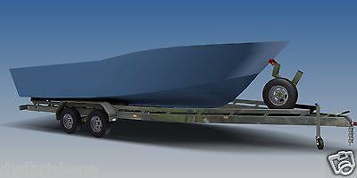 Trailer Plans - BOAT TRAILER PLANS - 7m(21ft) Monohull -PLANS ON USB Flash Drive 7