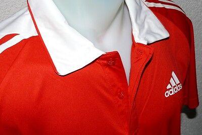 Adidas leichte Polo Hemd G75310 T Shirt Kurzarm Poppy NOC