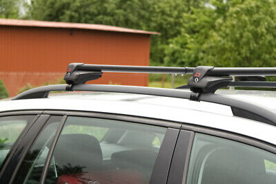 Aluminium Dachträger für Honda Civic X Tourer ab 14 kompl V-IR