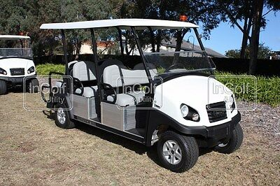NEW Club Car TRANSPORTER 6 Electric 48V Golf Cart Resort Buggy Buggie