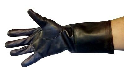 Ladies Super Soft Leather Gloves with Button Cuff by Lorenz Sizes S M L /& XL