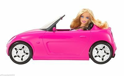Barbie Glam Auto Convertible Car with Barbie Doll V6744 Year 2010 New -Sealed 3