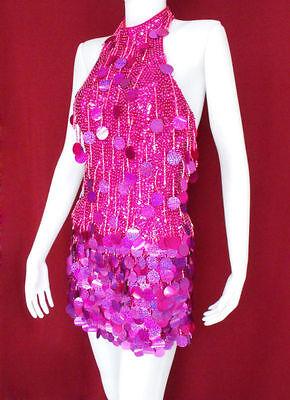 Da NeeNa M013R Salsa Latin Samba Drag Queen Dance Dress XS-XL