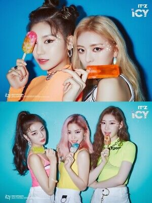 ITZY IT'Z ICY Album 2 Ver SET 2CD+POSTER+2 P.Book+4 Card+2 Pre-Order+GIFT SEALED 4