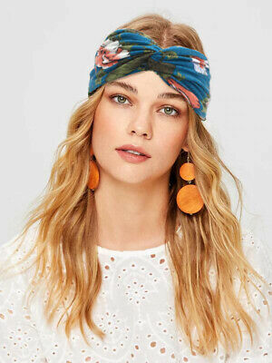 Women Girl Soft Turban Twist Headband Head Wrap Twisted Knotted Knot Hair Band 4