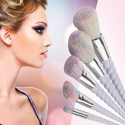 10Pcs Pro Makeup Brushes Set Foundation Blusher Face Powder Eye Cosmetic Brush 8