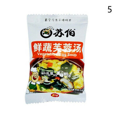 Chinese Instant vegetable Soup Different tastes Fast Food New Delicious 3