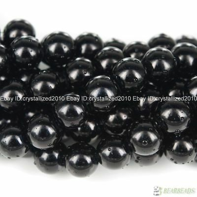 100pcs Top Quality Czech Glass Pearl Round Beads 3mm 4mm 6mm 8mm 10mm 12mm 14mm 6