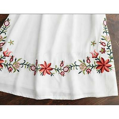 Hot Women Ethnic Mexican Floral Boho Peasant Dress Lady Materity Pregnant Dress! 11