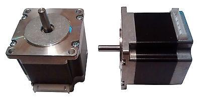 3D Printer  NEMA23 Stepper Motors - 1.8 deg - 6.35mm Shaft - Reprap & CNC 3