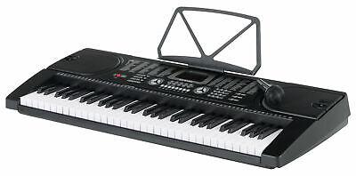 Tastiera Elettronica Musicale Pianola Pianoforte 61 Tasti 255 Suoni Microfono 4
