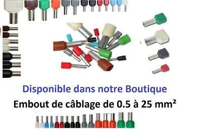 Collier de serrage plastique polyamide incolore ou noir 25-50-100-200-500 pièces 8