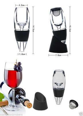 AU Magic Decanter Essential RED Wine Aerator and Sediment Filter 3