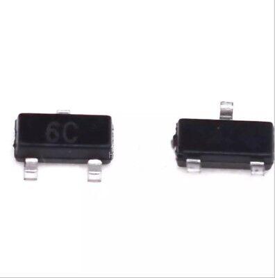 Transistor 6C SMD BC817-40 BC817 SOT-23 SOT23 NPN power 0.1A 45V mount surface 2