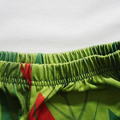 Moana Maui Outfits Set Kids Boys Cartoon T-shirt Tops+Shorts Clothes O42