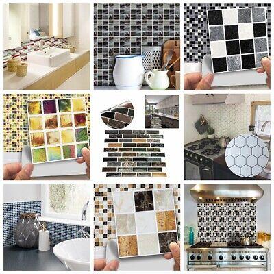 FAI DA TE Mosaico 3D Adesivo Muro Piastrelle Vinile Bagno Cucina Decorazione